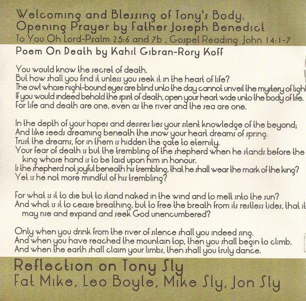 Tony Sly Memorial Mass 2/8