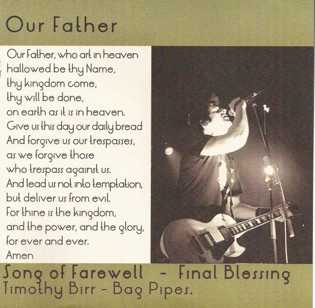 Tony Sly Memorial Mass 7/8