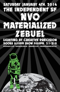Materialized at The Independent - 1-04-14