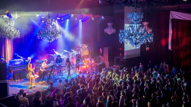 Materialized during the Cosmic Love Ball 2013 at The Fillmore in San Francisco, CA.